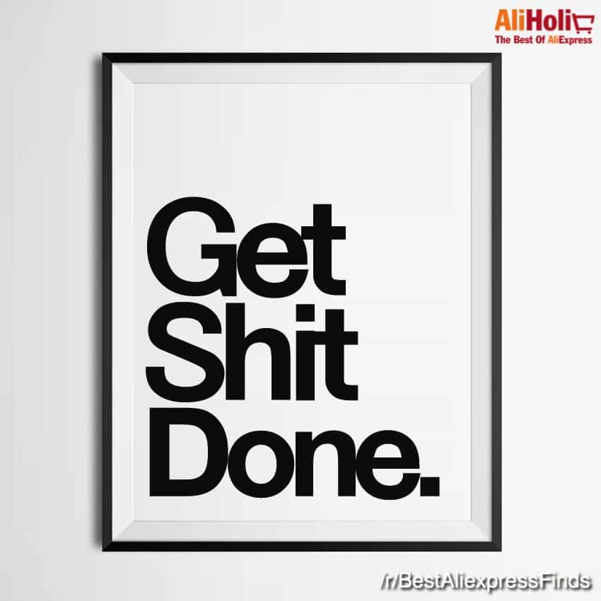Get Shit Done poster