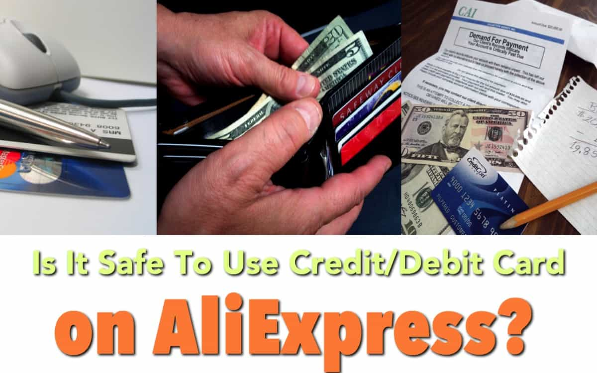Is it safe to use my credit card on AliExpress? – AliHolic